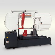 Double Column Semi-Auto. Metal Cutting Band Saw